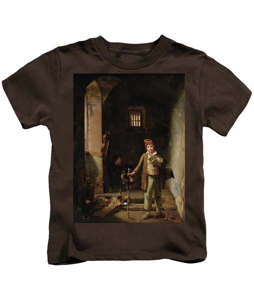 Bedroom Or The Little Groundhog Shower Kids T-Shirt by MotionAge Designs