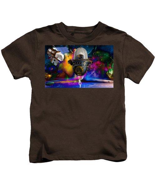 Bending Time Kids T-Shirt