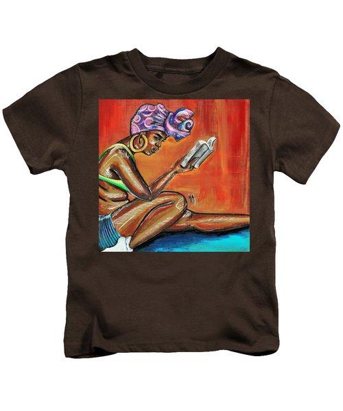 Bible Reading Kids T-Shirt