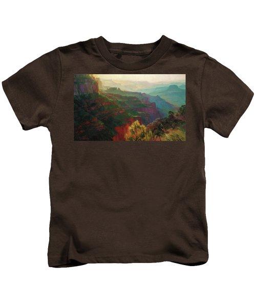 Canyon Silhouettes Kids T-Shirt