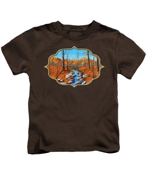 Cheerful Fall Kids T-Shirt