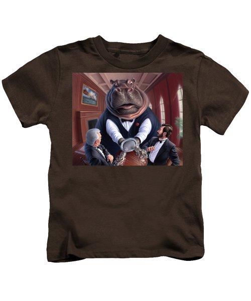Clumsy Kids T-Shirt by Jerry LoFaro