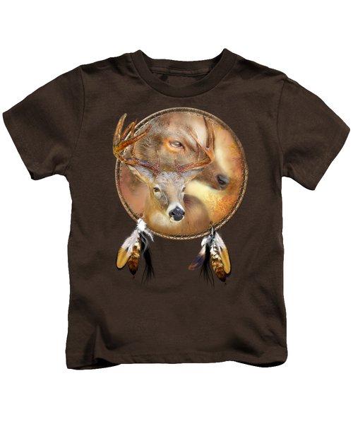 Dream Catcher - Autumn Deer Kids T-Shirt
