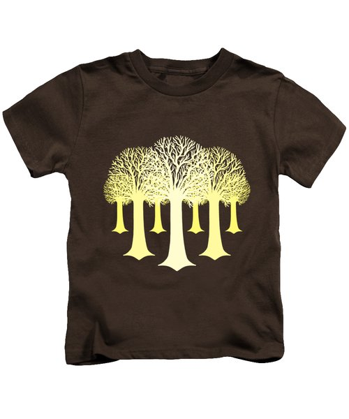 Electricitrees Kids T-Shirt by Freshinkstain