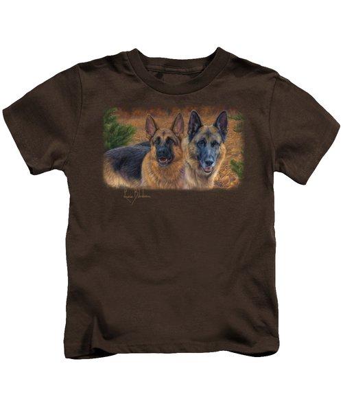 Enjoying The Fall Kids T-Shirt