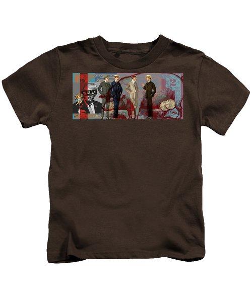 Fat Necks Kids T-Shirt by Nop Briex
