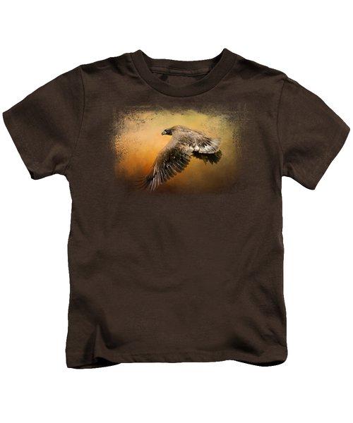 First Flight Kids T-Shirt by Jai Johnson