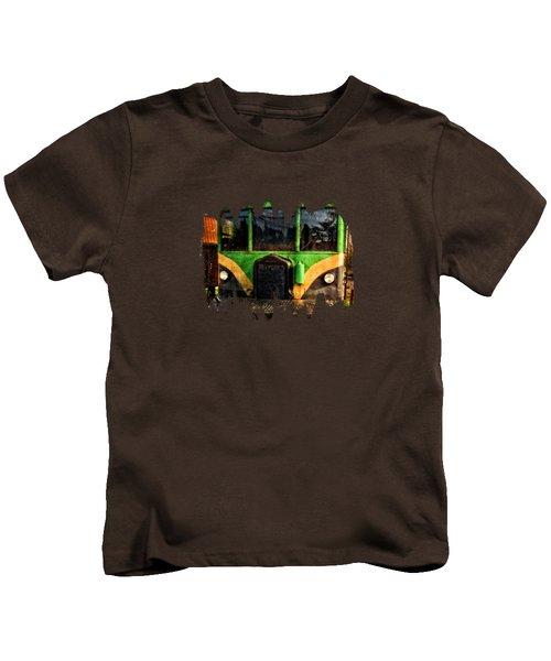 Galloping Goose Kids T-Shirt by Thom Zehrfeld