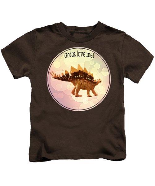 Gotta Love Me Kids T-Shirt by Art OLena
