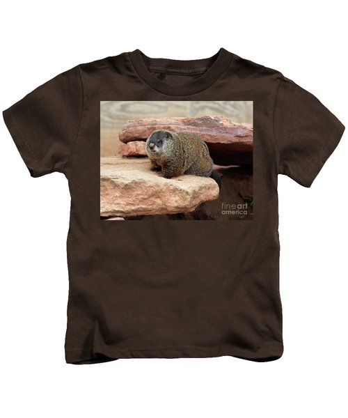Groundhog Kids T-Shirt by Louise Heusinkveld