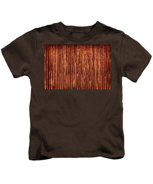 Historic Barnside Grand Tetons Kids T-Shirt