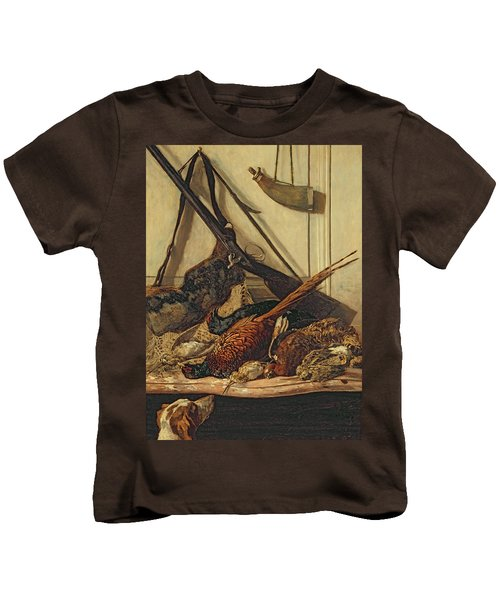 Hunting Trophies Kids T-Shirt