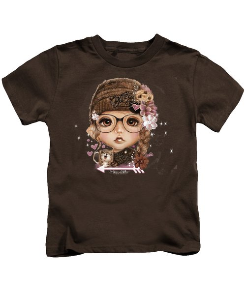 Java Joanna Kids T-Shirt by Sheena Pike