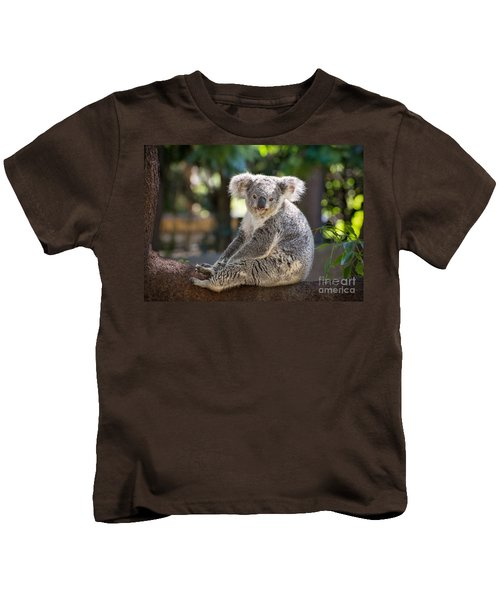 Just Relax Kids T-Shirt by Jamie Pham
