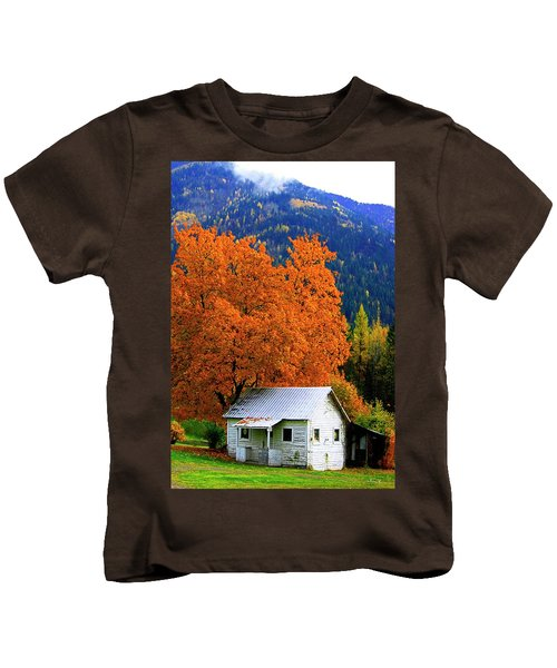 Kootenay Autumn Shed Kids T-Shirt