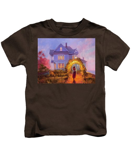 Lady In Waiting Kids T-Shirt