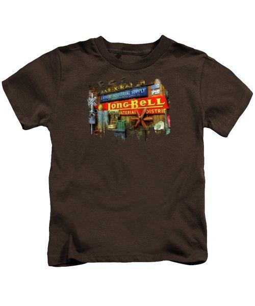 Long Bell  Kids T-Shirt by Thom Zehrfeld