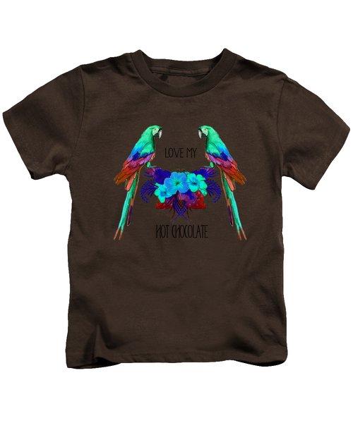 Love My Hot Chocolate Kids T-Shirt
