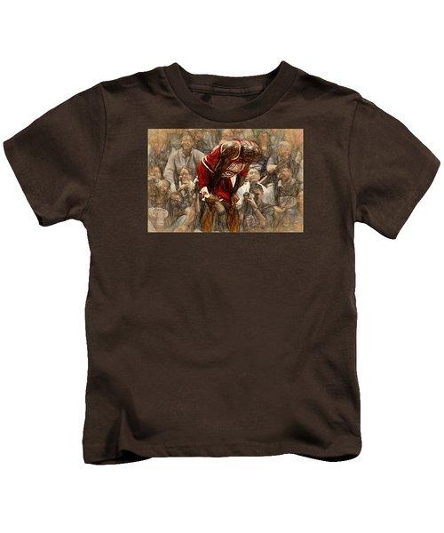 Michael Jordan The Flu Game Kids T-Shirt
