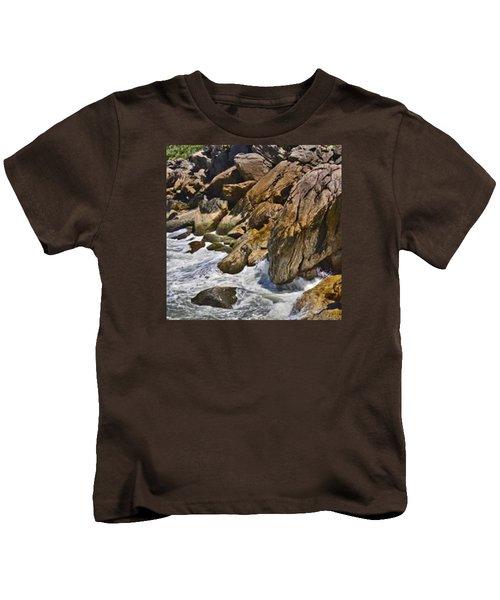 Brazilian Sea Cliffs - Guaruja - Sao Paulo Kids T-Shirt