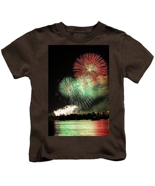 Montreal-fireworks Kids T-Shirt