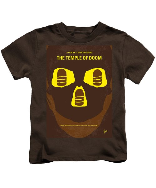No517 My The Temple Of Doom Minimal Movie Poster Kids T-Shirt