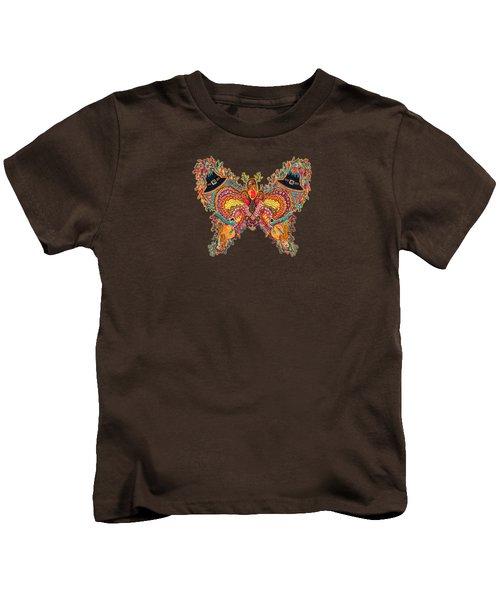November Butterfly Of The Month Kids T-Shirt by Laurel Rosenberg