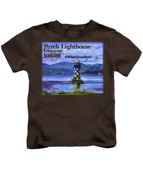 Perch Lighthouse Scotland Shirt Kids T-Shirt