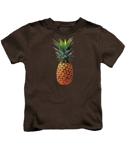 Pineapple Kids T-Shirt by T Shirts R Us -