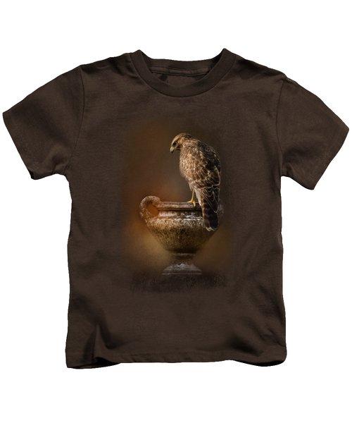 Sacred Moment Kids T-Shirt by Jai Johnson
