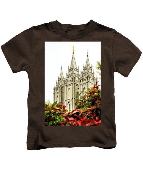 Slc Temple Angle Kids T-Shirt