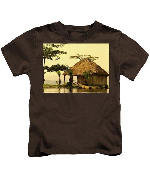 Source Of The Nile Kids T-Shirt by Exploramum Exploramum