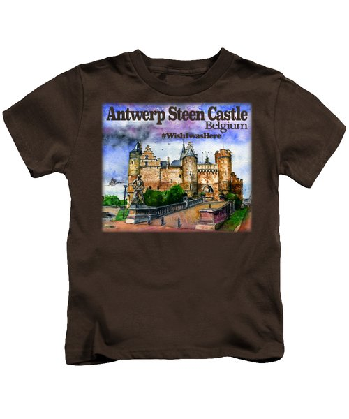 Steen Castle Antwerp Kids T-Shirt
