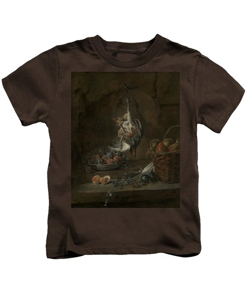 Still Life With Dead Pheasant Kids T-Shirt
