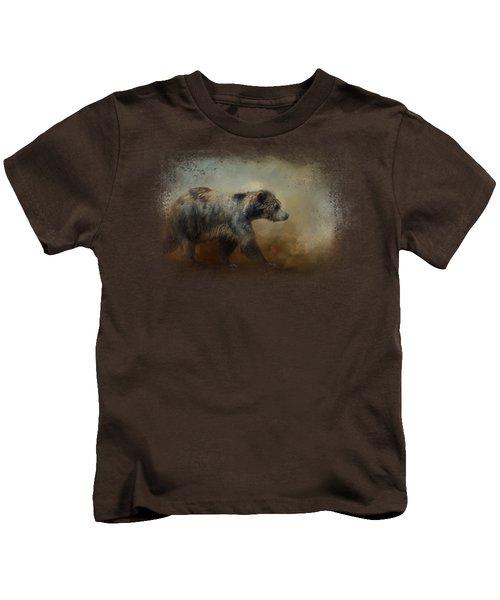 The Long Walk Home Kids T-Shirt by Jai Johnson