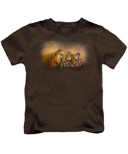 The Tiger Awakens Kids T-Shirt