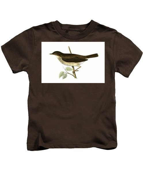 Thrush Nightingale Kids T-Shirt by English School