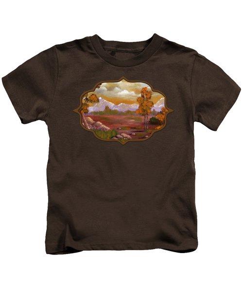 Unpredictable Weather Kids T-Shirt by Anastasiya Malakhova