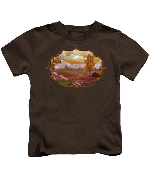 Unpredictable Weather Kids T-Shirt
