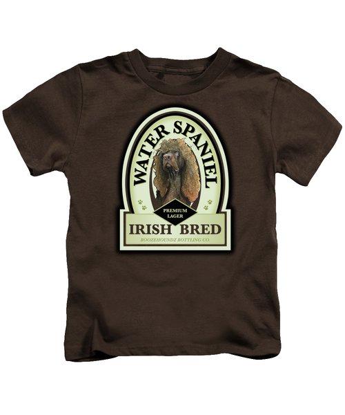 Water Spaniel Irish Bred Premium Lager Kids T-Shirt