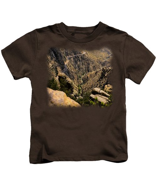 Windy Point No.9 Kids T-Shirt by Mark Myhaver