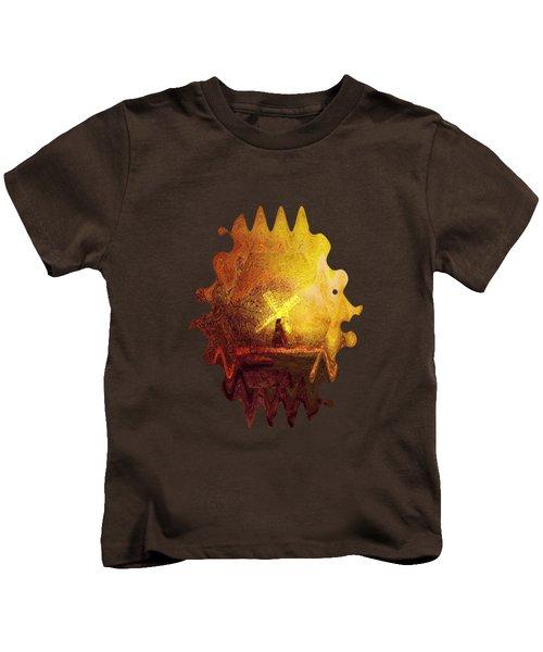 Ye Olde Mill Kids T-Shirt by Valerie Anne Kelly
