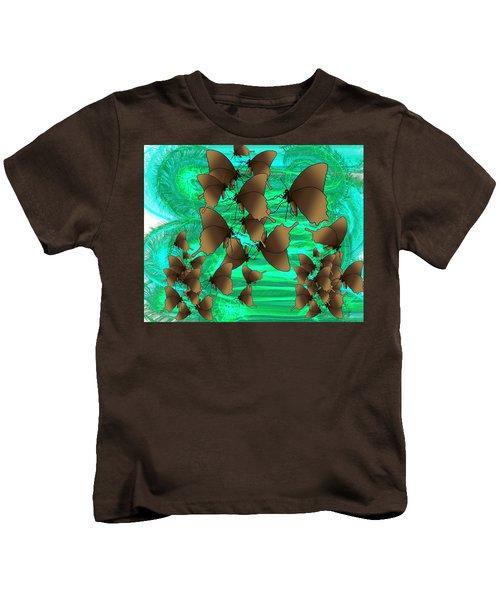 Butterfly Patterns 3 Kids T-Shirt