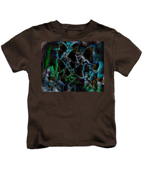 Butterfly Patterns 5 Kids T-Shirt