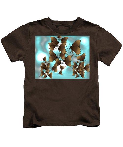 Butterfly Patterns 7 Kids T-Shirt
