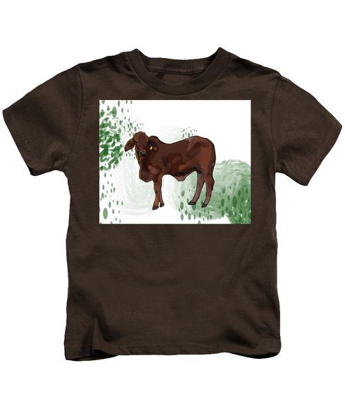 C Is For Cow Kids T-Shirt