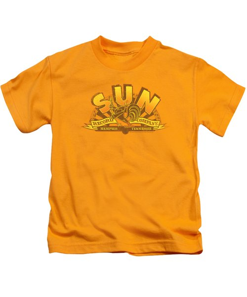 Sun - Rockin Rooster Logo Kids T-Shirt