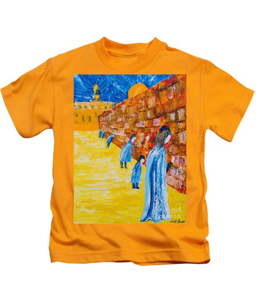 Western Wall Kids T-Shirt
