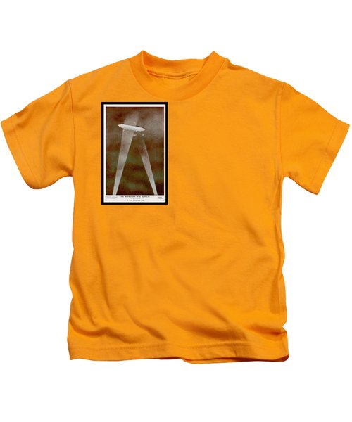 American Beaver Swimming Kids T-Shirt
