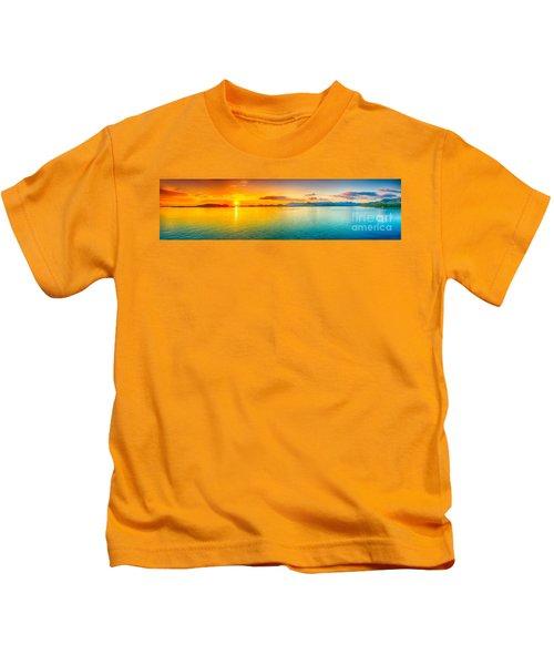 Sunset Panorama Kids T-Shirt